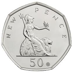 2019 50th Anniversary of the 50p Coin