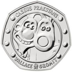2019 Wallace and Gromit 50p