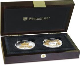 The Coronation Jubilee £5 Coin Pair