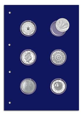 Change Checker Collector Page for 6 x £5 coins