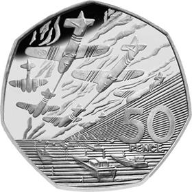 UK 1994 D-Day 50p