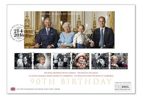 The Ultimate Queen's 90th Birthday FDC
