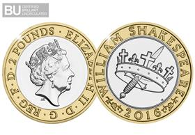 2016 UK Shakespeare Histories CERTIFIED BU £2