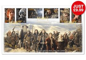 The Hobbit Stamps First Day Cover