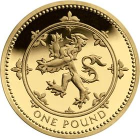 UK Scottish Lion Circulation £1