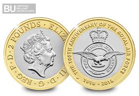 2018 UK RAF Centenary CERTIFIED BU £2
