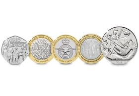 The 2018 CERTIFIED BU Commemorative Coin Set