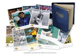 Football Greats Autograph Collection