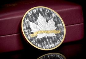 Canada 2018 30th Anniversary Silver Maple Leaf