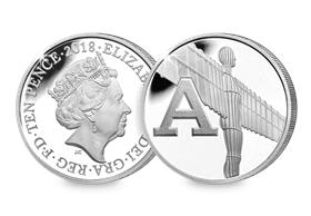 2018 UK 'A' Silver Proof 10p