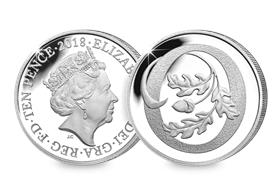 2018 UK 'O' Silver Proof 10p