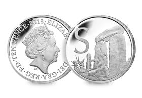 2018 UK 'S' Silver Proof 10p