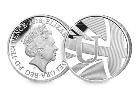 2018 UK 'U' Silver Proof 10p