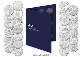 UK A-Z 10p Collector's Pack + FREE 10p