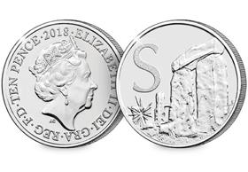 2018 UK Stonehenge EARLY STRIKE 10p