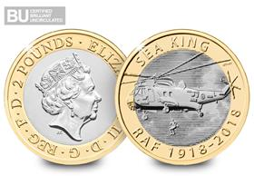 2018 UK RAF Sea King CERTIFIED BU £2