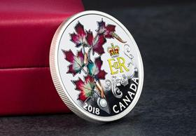 Canada 2018 Queen's Maple Leaves Brooch