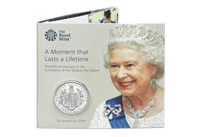 UK 2018 Coronation Jubilee £5 BU Pack