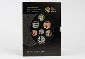 Royal Mint 2008 BU Pack