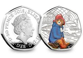 UK 2018 Paddington at the Station Silver Proof