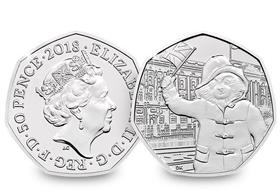 2018 UK Paddington at Palace CERTIFIED BU 50p