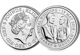 2018 UK Royal Wedding CERTIFIED BU £5