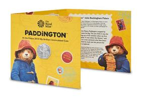 UK 2018 Paddington at the Palace 50p BU Pack