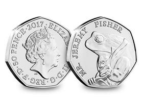 Mr jeremy fisher 50p worth 2020