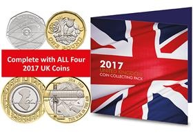 Complete 2017 Commemorative Coin Pack
