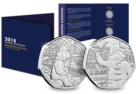 2018 Complete Paddington 50p Pack