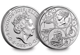 2019 UK Queen Victoria CERTIFIED BU £5