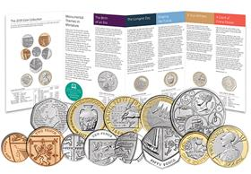 UK 2019 Annual Coin Set