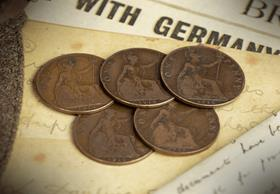 World War I Pennies Collection