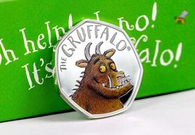 UK 2019 The Gruffalo 50p Silver Proof