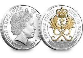 The Prince Philip 70 Years of Service £5 Coin