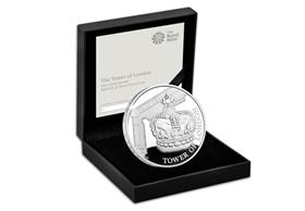 UK 2019 The Crown Jewels £5 Silver Proof