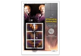 Stephen Hawking Presentation Coin Cover