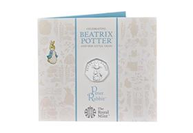 UK 2019 Peter Rabbit 50p BU Pack