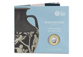 UK 2019 Wedgwood £2 BU Pack