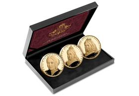 The Queen Victoria Gold Plated Set