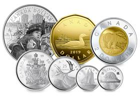 Canada 2019 75th Anniversary of D-Day Annual Proof Set with Silver Pro