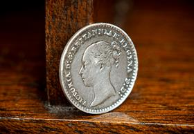 Queen Victoria Silver Maundy Penny