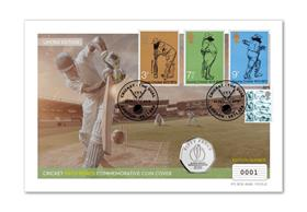 Cricket 2019 Commemorative Coin Cover