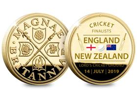 Cricket World Cup Finalists Medal