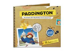 UK 2019 Paddington at St Paul's 50p BU Pack