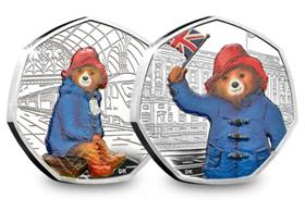 UK 2018 Paddington 50p Pair Silver Proof