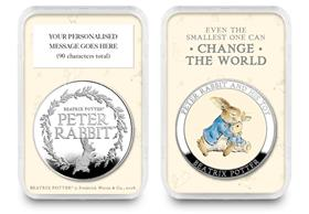 Peter Rabbit Personalised Medal