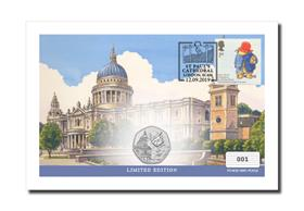 Paddington at St Paul's UK Coin Cover