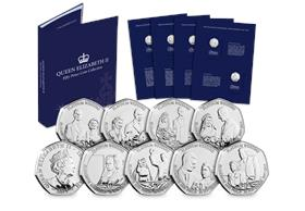 The Platinum Wedding 50p Collection