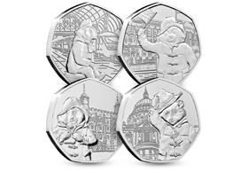 The Paddington 50p Complete CERTIFIE BU Set